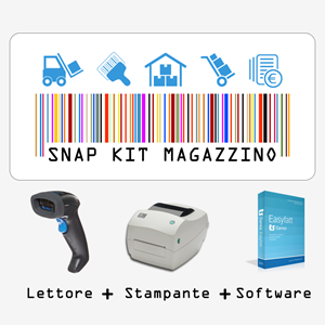 Kit Software magazzino completo